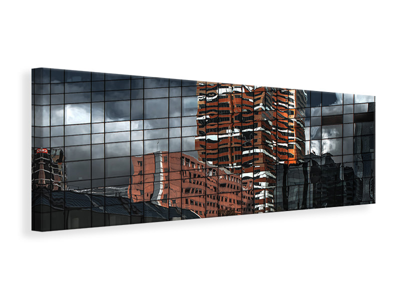 Panoramic Canvas Print Puzzle Reflection