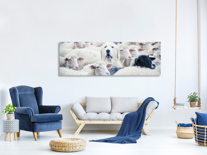 Panoramic Canvas Print In Disguise