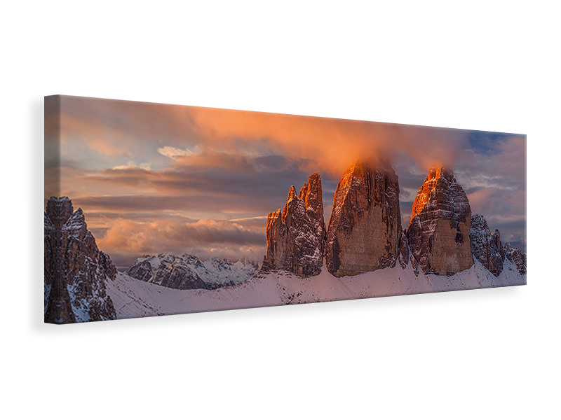 Panoramic Canvas Print The Story Of The One Sunrise