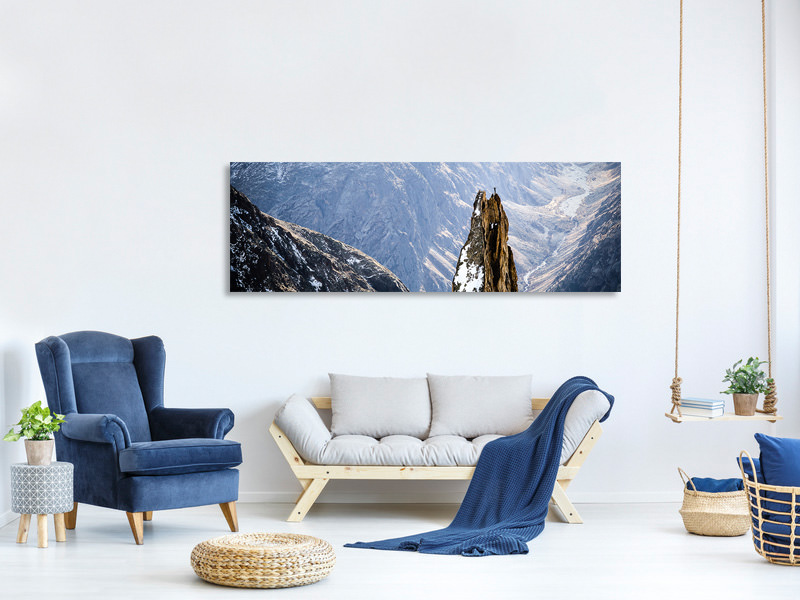 Panoramic Canvas Print The Top