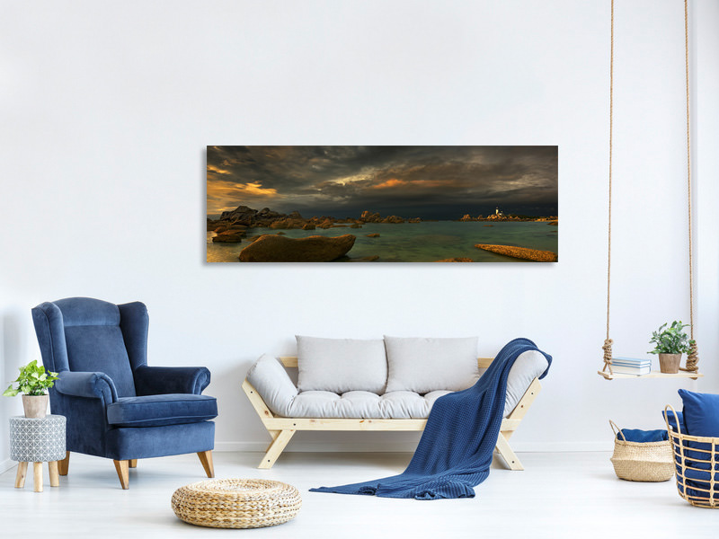 Panoramic Canvas Print Pontusval