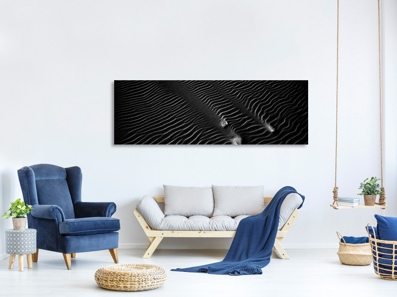 Panoramic Canvas Print Sand 2