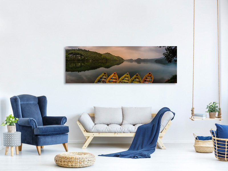 Panoramic Canvas Print Calmness Charm