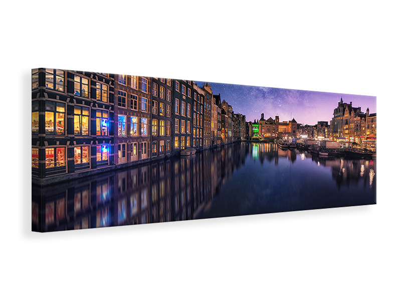 Panoramic Canvas Print Galactic Damrak