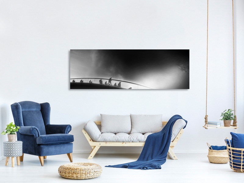 Panoramic Canvas Print The Cycle