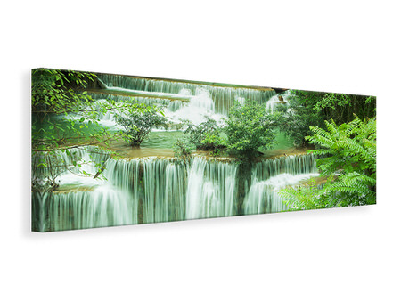 Panoramic Canvas Print 7 Levels In Thailand