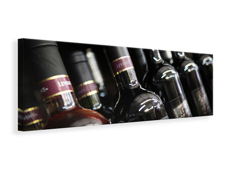 Panorama Canvastavla Bottled Wines