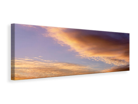 Panoramic Canvas Print Heavenly