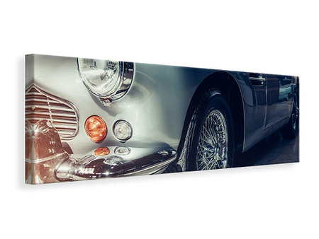 Panoramic Canvas Print Classic Car