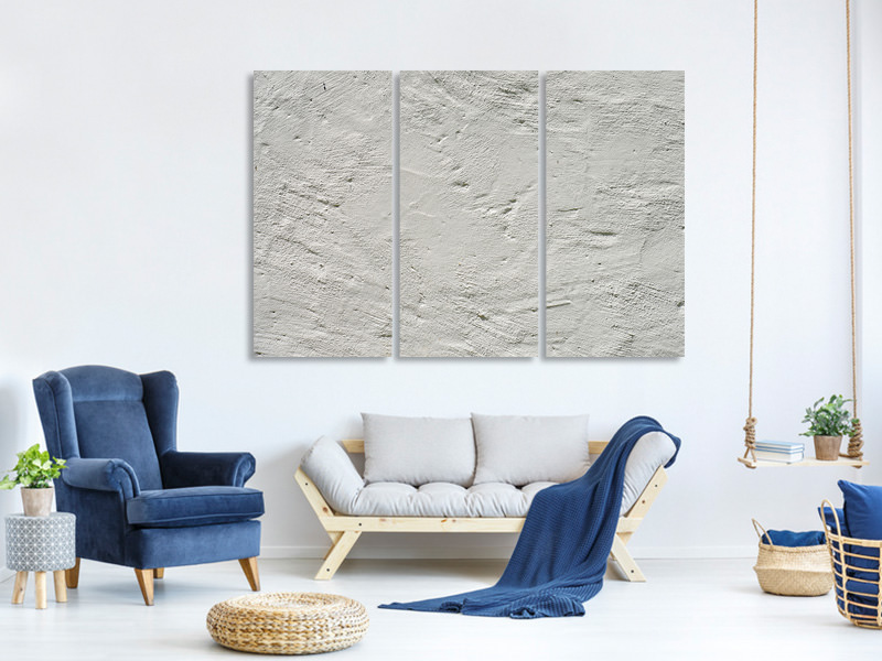 3 Piece Canvas Print Wall texture