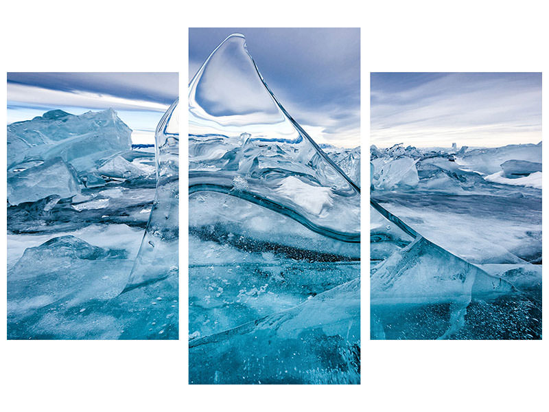 Modern 3 Piece Canvas Print Sail