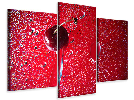 Modern 3 Piece Canvas Print Photo Waallpaper The Cherry