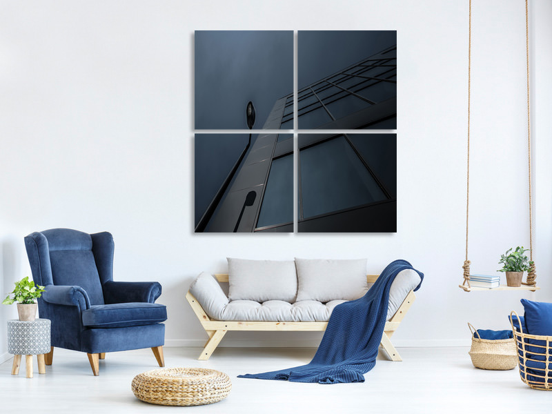 4 Piece Canvas Print Silence Of The Lamp