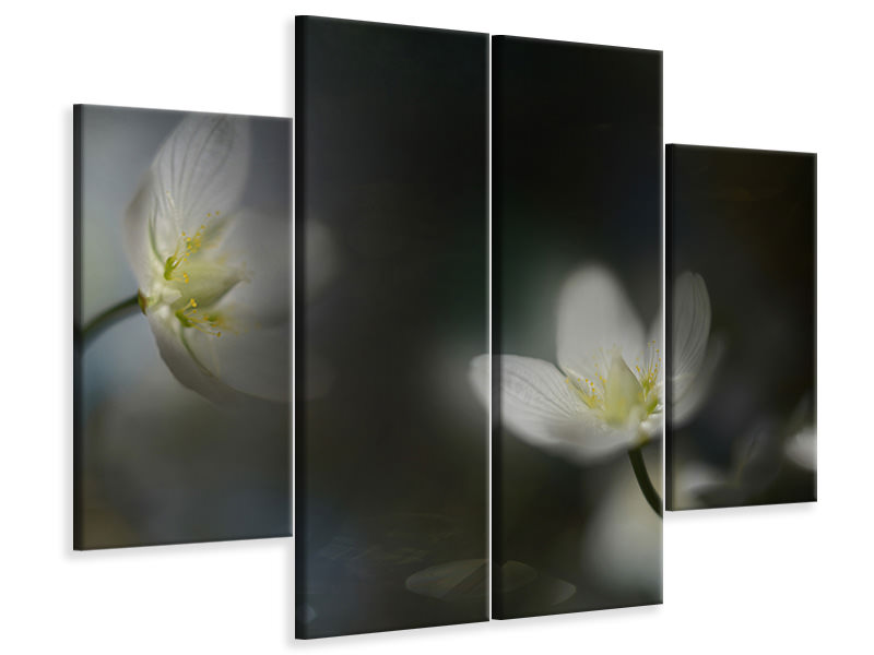 4 Piece Canvas Print Light In The Darkness