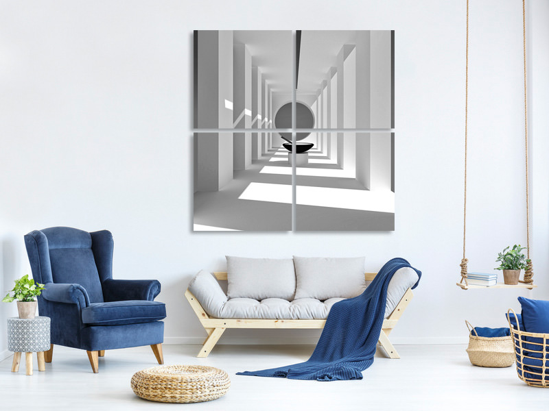4 Piece Canvas Print Mie Bowl Room
