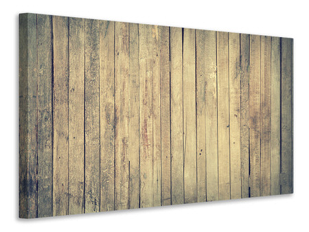 Canvas print Boards wall