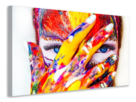 Canvas print Make up art