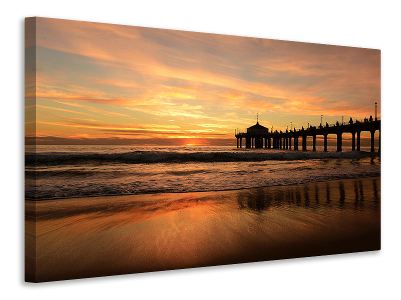 Canvas print A place on the beach to dream