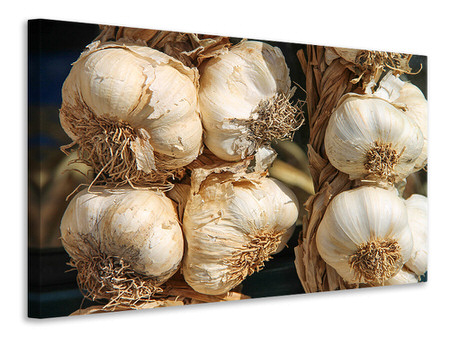 Canvastavla The garlic XL