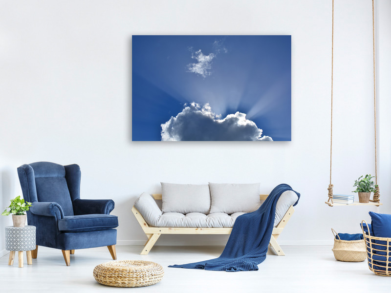 Canvas print A clouds picture
