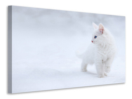 Canvas print White As Snow