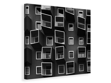 Canvas print Living In Boxes