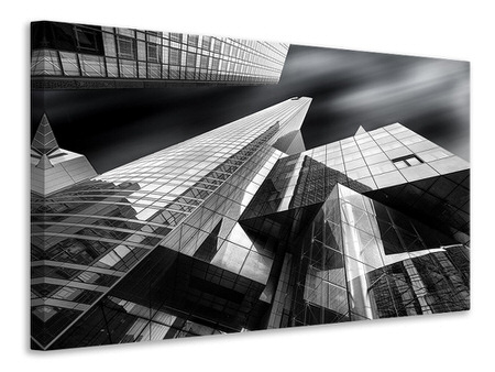 Canvas print Glass City