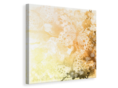 Canvas print Romantic Butterflies