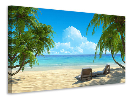 Canvas print Beach Paradise