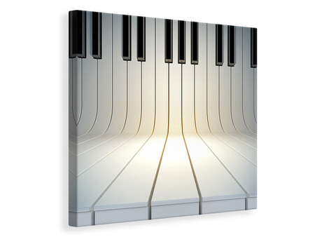 Canvastavla Piano Keys