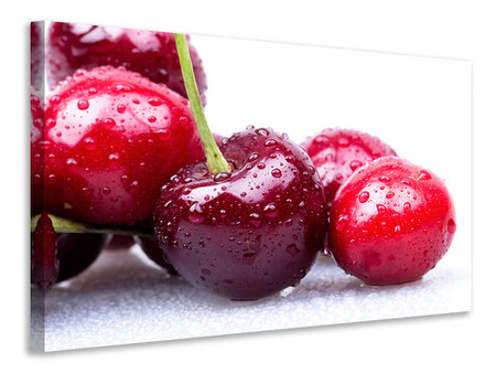 Canvastavla Cherries