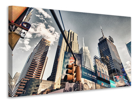 Canvas print Times Square