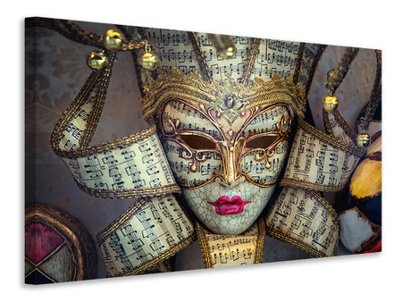 Canvas print Venetian Mask