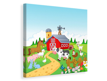 Canvas print Funny Farm