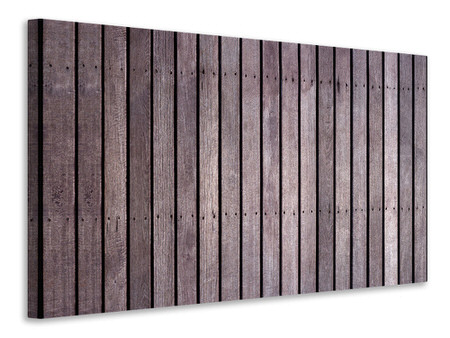 Canvastavla Wood Wall