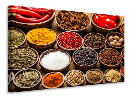 Canvas print Hot Spices