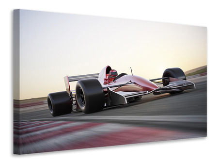 Canvas print Racetrack