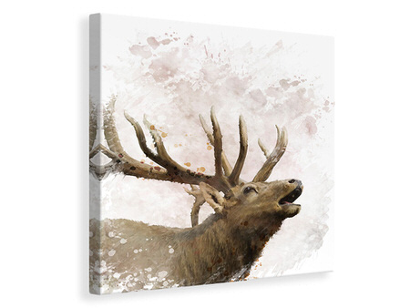 Canvas print Elk Painting