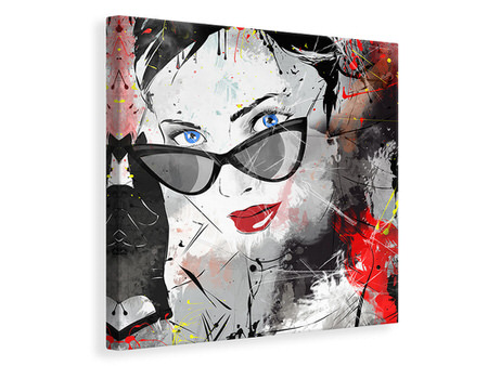 Canvas print Face