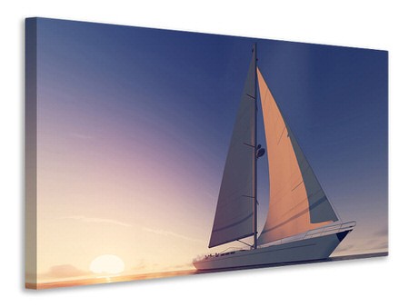 Canvas print The Sailboat
