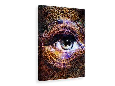 Canvas print Psychedelic Eye